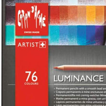 Load image into Gallery viewer, Caran d'Ache Luminance 6901 Clr Pncl Set 76 Artist Rng Caran d'Ache
