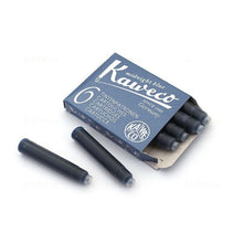 Load image into Gallery viewer, Kaweco Fountain Pen 30 ink cartridges short blue/black Kaweco