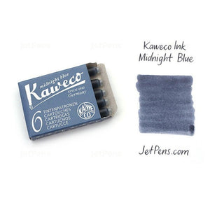 Kaweco Fountain Pen 30 ink cartridges short blue/black Kaweco