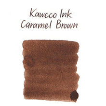 Load image into Gallery viewer, Kaweco Fountain Pen Ink Cartridges short, Caramel Brown (Brown), Pack of 6 Kaweco