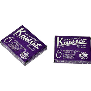 Kaweco Fountain Pen ink cartridge short purple violet - pack of 6 Kaweco