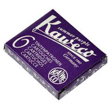 Load image into Gallery viewer, Kaweco Fountain Pen ink cartridge short purple violet - pack of 6 Kaweco