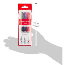 Load image into Gallery viewer, Caran d 'Ache d-ache 115.303 3pièce – Brushes Brush (S) (Red, White, 3 Piece (S) - GoldenGenie
