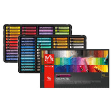 Load image into Gallery viewer, Caran D'ache Neopastel - Set of 96 - Assorted Colors (7400.396) - GoldenGenie