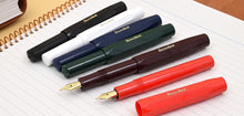Load image into Gallery viewer, Kaweco Sport Classic Fountain Pen Red B (bold) - GoldenGenie.jpg
