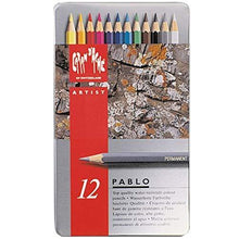 Load image into Gallery viewer, Caran D'ache 12 Color Pablo Set (666.312) - GoldenGenie