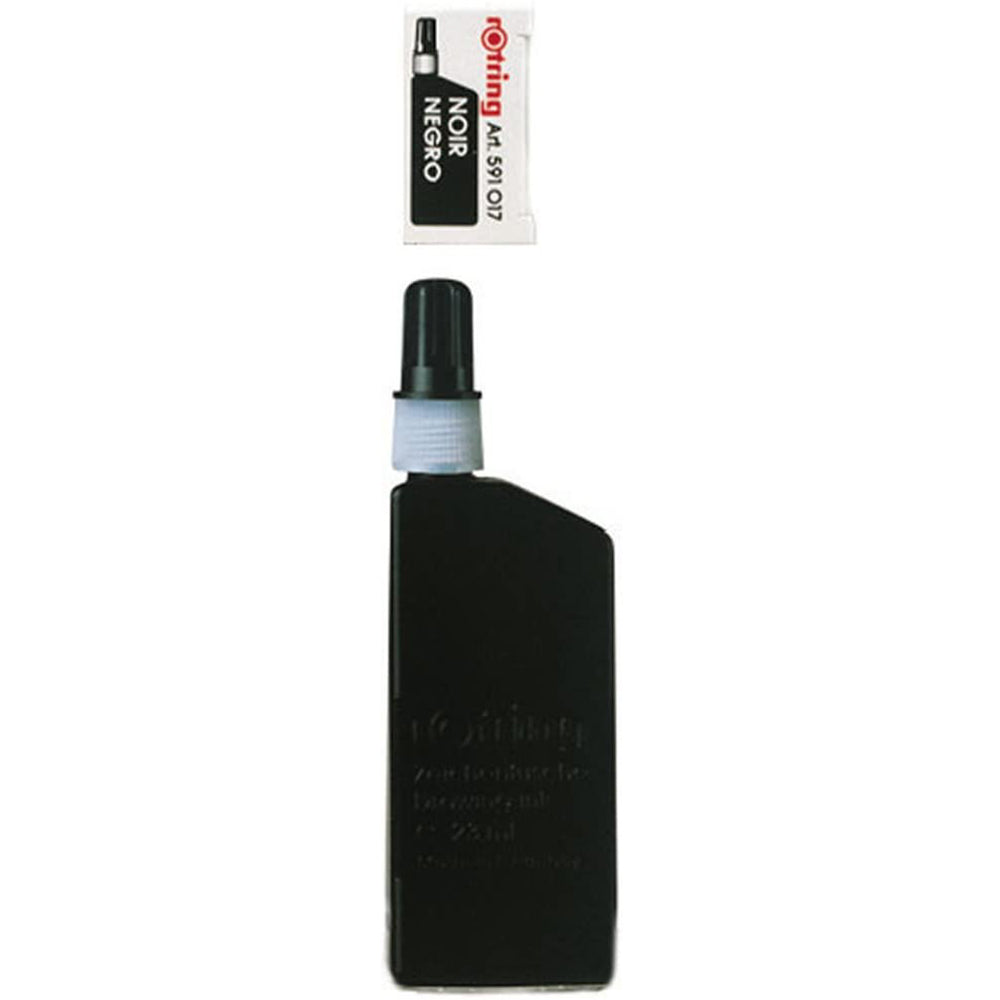 rOtring Isograph Technical Drawing Pen, Liquid Ink, 23 ml, Black