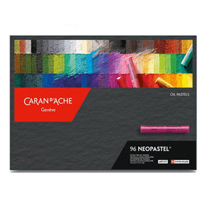 Caran D'ache Neopastel - Set of 96 - Assorted Colors (7400.396) - GoldenGenie
