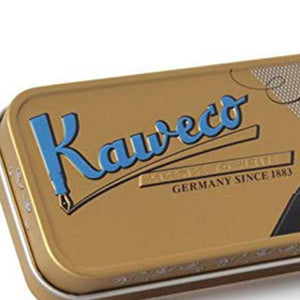 Kaweco Tin box, Nostalgia, Short - GoldenGenie
