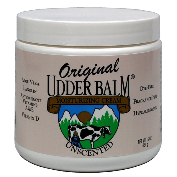 Unscented Original Udder Balm 16oz jar
