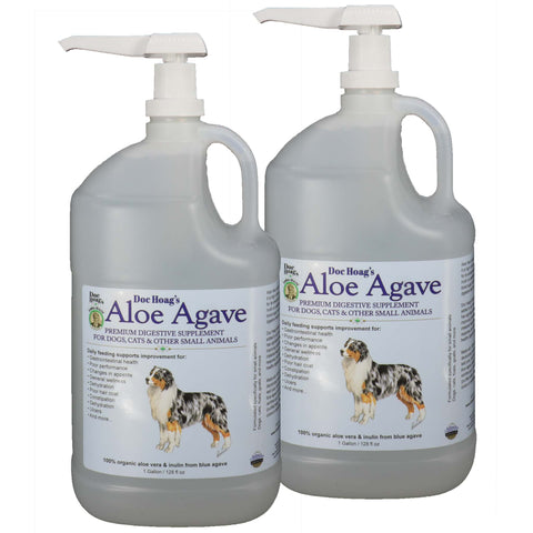 Aloe Agave 1x supplement for small animals and companion pets (2 Pack) - OriginalUdderBalm.com