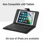 Dacre™ - Wireless Bluetooth Keyboard With Leather Case