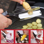 Kopsy™ - New Clever Cutter 2 in 1 Smart Knife & Cutting Board