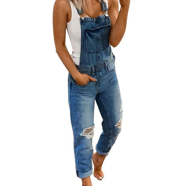Judy™ - Casual Jeans Jumpsuit
