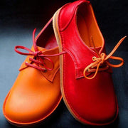 Dorothea™ - Vintage Genuine Leather Lace Up Casual Flat Shoes