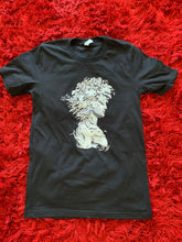 Load image into Gallery viewer, Black Graphic Tee. New Zealand Graffiti Artist