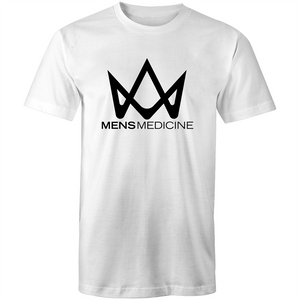 White Mens Medicine T-shirt