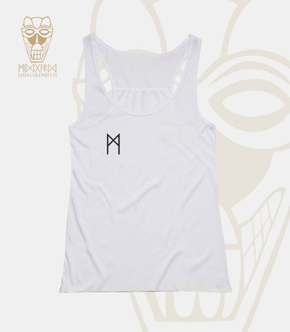SINGLET - SHIRT (WHITE - GIRLIE)