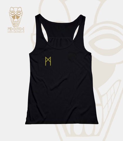 SINGLET - SHIRT (BLACK - GIRLIE)