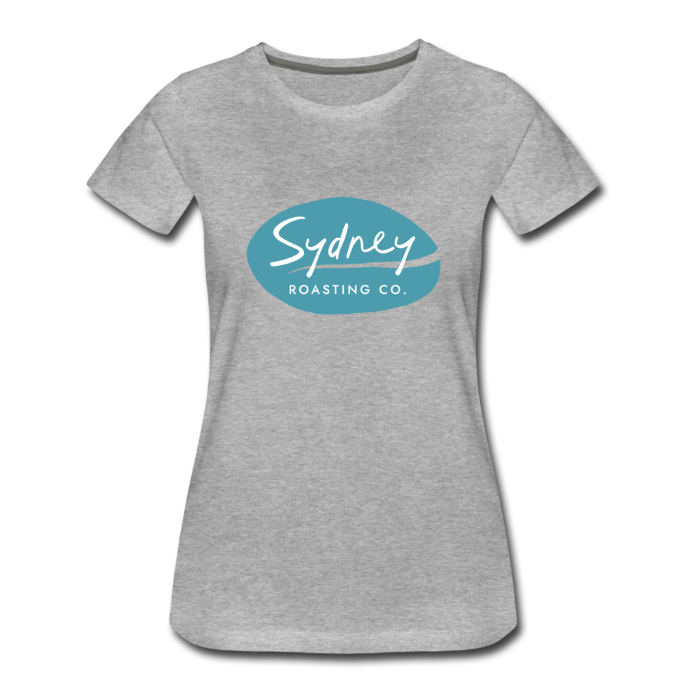 Ladies Fitted T-Shirt - heather gray