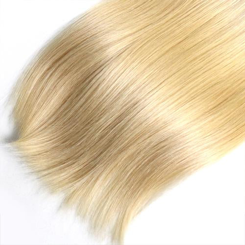 Straight Human Hair #613 Blonde Bundles