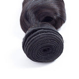 Loose Wave Virgin Human Hair Natural Black Bundles