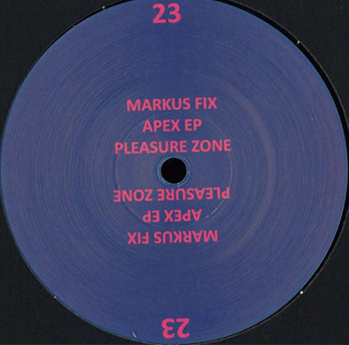 Markus Fix 'Apex EP'