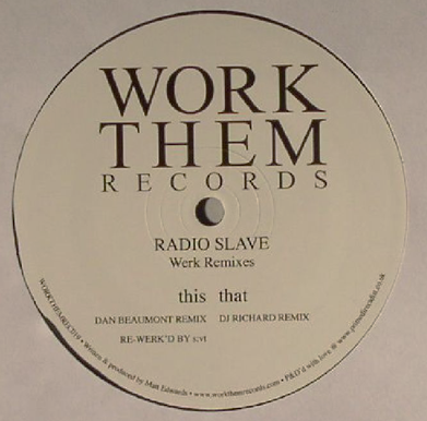 Radio Slave 'Werk Remixes'