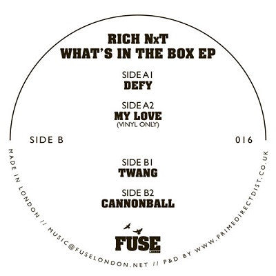 Rich Nxt 'What's In The Box EP'