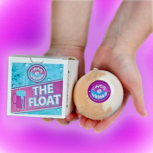"The Float 2.75"" bath bomb (root-beer scent)"