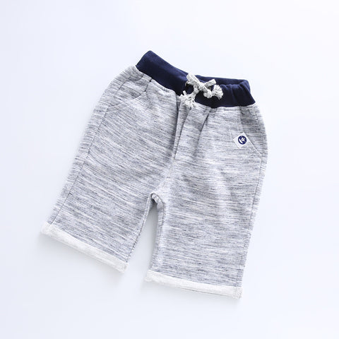Casual Cotton Shorts Grey