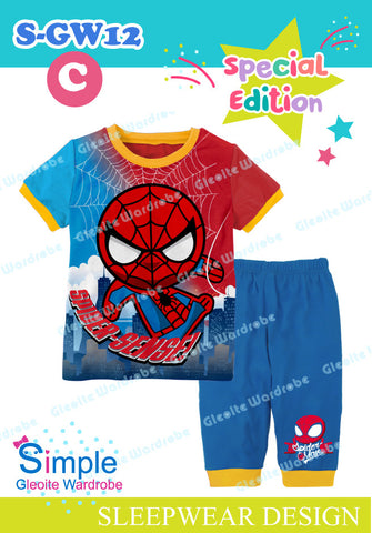 Short Set: Spiderman