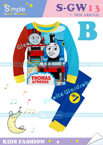 Long Pajamas: Thomas