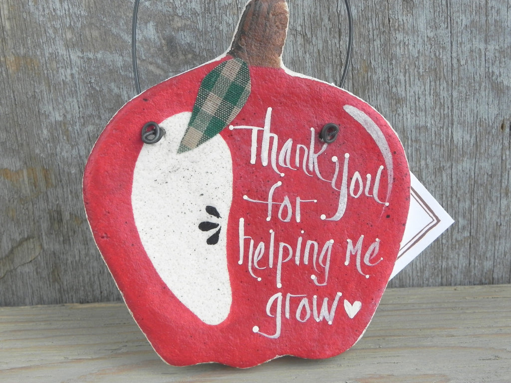 teacher gifts, apple ornament