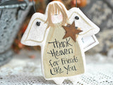 Friendship Gift Salt Dough Ornament