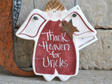 Uncle Birthday Gift Salt Dough Ornament