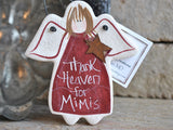 Personalized Family Gift Salt Dough 'Mimi' Ornament
