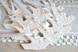 Beautiful Baptism Dove Favors Salt Dough Ornaments Wholesale Set of 6 Baptism / Wedding Favors