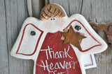 Great Grandson Personalized Gift Salt Dough Ornament