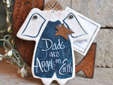 Father's Day Personalized Salt Dough Ornament Birthday for Dad