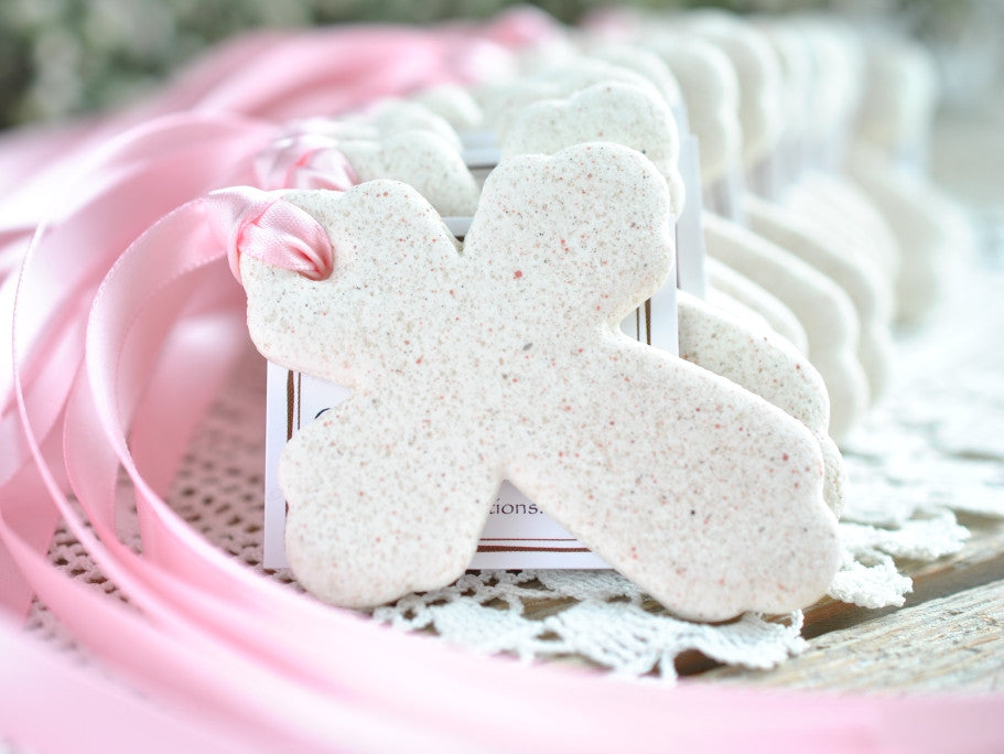 cross baptism wedding shower favor ideas ornaments