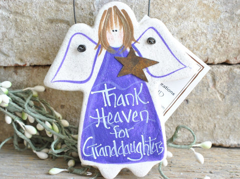 Granddaughter Ornament Salt Dough Christmas / Birthday Gift