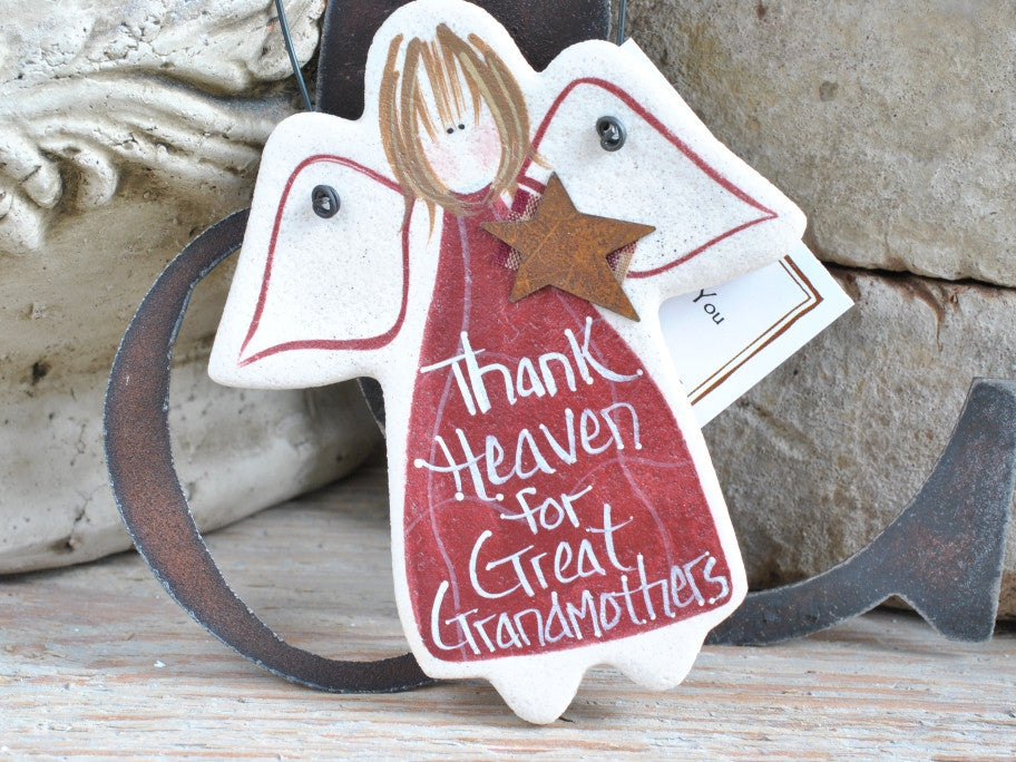 Salt Dough Great Grandmother Ornament Mothers Day Or Birthday Gifts For Grandma