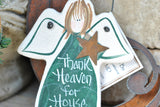 House Cleaner / Cleaning Lady / Housekeeper Gift Salt Dough Ornament