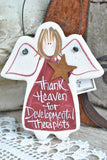 Developmental Therapy Gift Salt Dough Ornament / Christmas Tree Decor