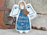 physical therapy gift ornament PT gift ideas handmade USA