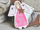 Bus Aide Gift Salt Dough Ornament