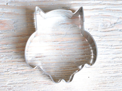 Cute Owl Cookie Cutter Baking / Craft Supplies