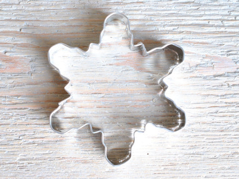 "Large Snowflake Cookie Cutter 4 1/4"" Baking / Craft Supplies"