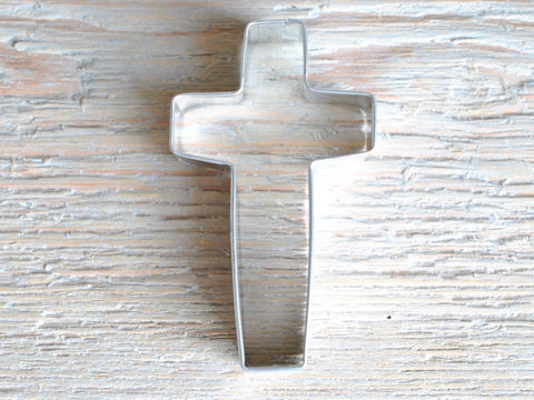 Cross Cookie Cutter Baking 3 1/2 inch Craft Supplies